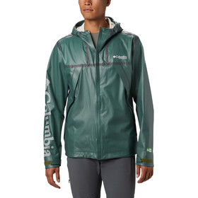 Columbia OutDry Ex ECO II Tech Shell Giacca Uomo, thyme green